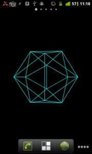 Geometric Shapes Live Wallpaper