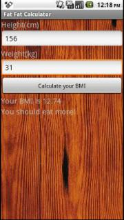 Fat Fat Calculator (Eng Version)