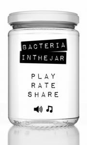 Bacteria in the jar