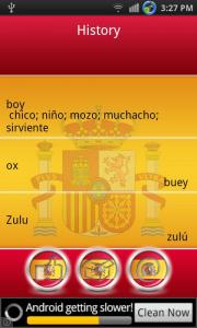 English to Spanish Dictionary