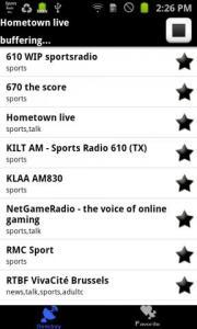 Sports Radio Pro