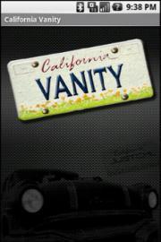 California Vanity