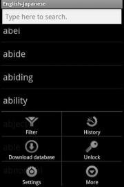MSDict English-Japanese Dictionary