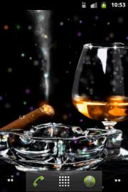 Whiskey and Cigar (Live Wallpaper)
