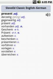 SlovoEd Classic German-English & English-German dictionary