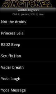 Star Wars Ringtones