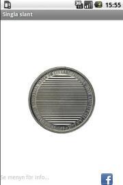 Singla slant (Coin toss)