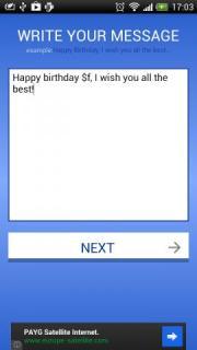 Birthday Greeter
