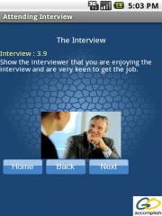 Attending Interview
