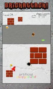 Brick attack!
