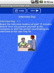 Attending Interview Lite