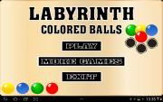 Labyrinth Colored Balls