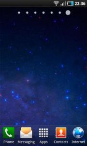 Animated Starry Sky