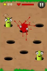 Smash The Angry Worm