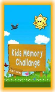 Kids Memory Challenge FREE