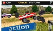 Up Hill Monster Car Racing