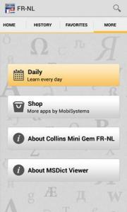 Collins Mini Gem FR-NL