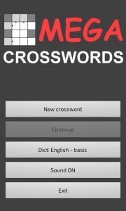 MEGA Crosswords