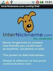 InterNickname.com LookUp/Dial