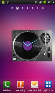 DJ DECK Analog Clock