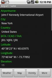 IATA / ICAO Dictionary