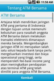 Kode ATM Bersama