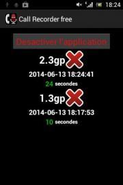 Enregistrer appel