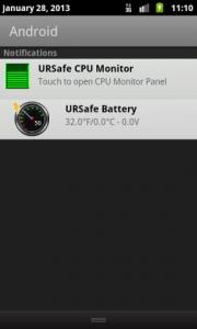 URSafe Battery Meter