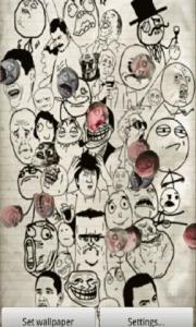 Rage Faces Live Wallpaper