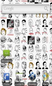 Rage Faces Live Wallpaper