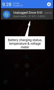 Battery Percentage Viewer