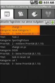 My-Todolist - offline (c) 2010 by ThomasSchiffler.de