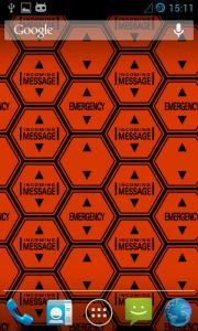 Hexagon Battery Indicator Live Wallpaper