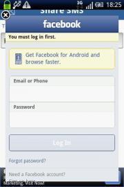 SMS Share