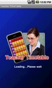 Teacher TimeTable