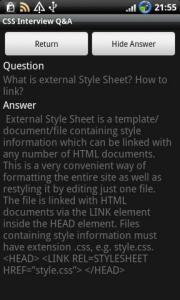 CSS Interview Q&A