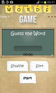 Words Game