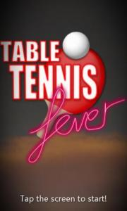 Table Tennis Fever