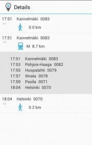Journey Planner Helsinki Region