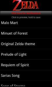 Zelda Ringtones