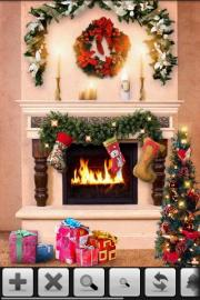 XmasFirePlace