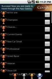 Trophies 4 NFS The Run