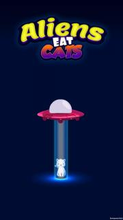 Aliens eat cats