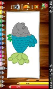 Tap Fish Coloring