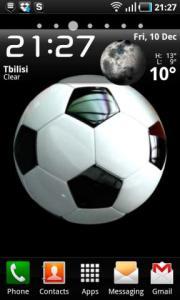 3D Football Ball