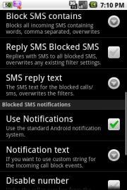 SMS Blocker Lite