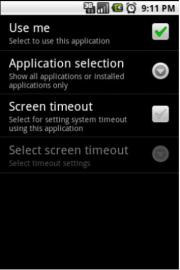 Custom Timeout And Brightness