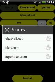 Speech Assistant For Jokes