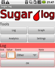 Sugar log