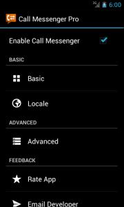Call Messenger Lite